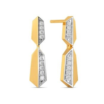 The Blind Fold Diamond Earrings