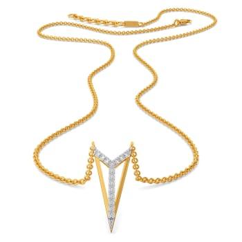 The Power Suit Diamond Necklaces