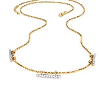 Staple Trio Diamond Necklaces
