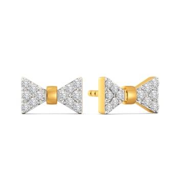 The Bow Bash Diamond Earrings