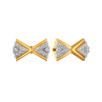 Bow of the Brave Diamond Earrings