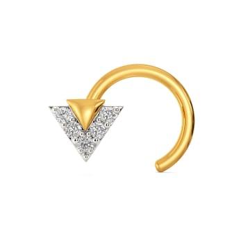 Bow N Beyond Diamond Nose Pins