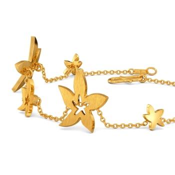 Golden Starflower Gold Bracelets