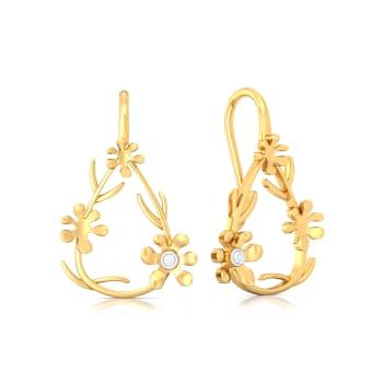 Forget-Me-Not Gemstone Earrings