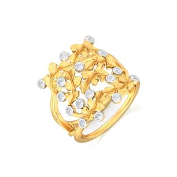 Spring Oak Diamond Rings