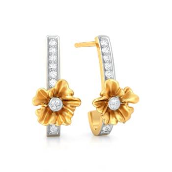 Petite Fleur Diamond Earrings