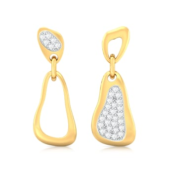 Big Game Diamond Earrings