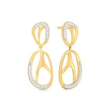 Animal Song Diamond Earrings