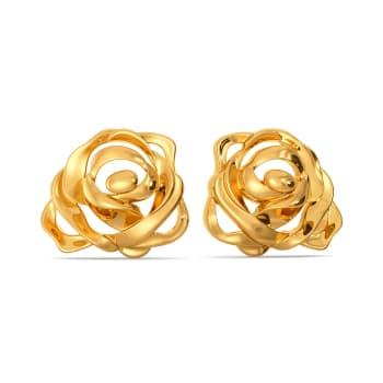 Romantic Rage Gold Earrings