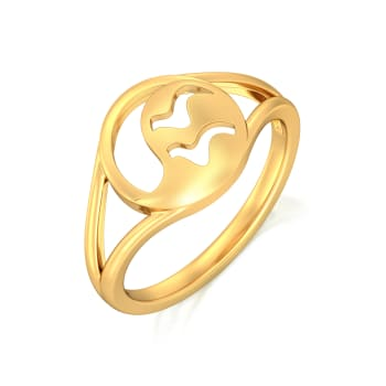 Boteh Beauty Gold Rings