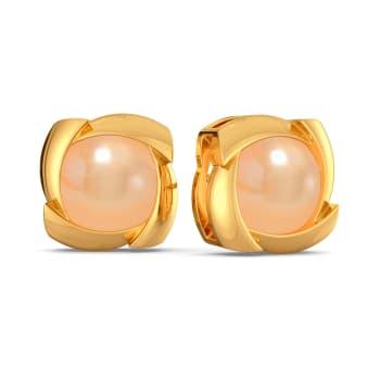 Peach Palette Gemstone Earrings