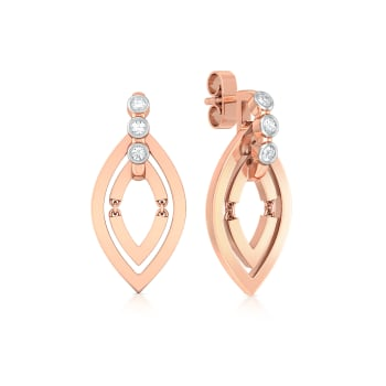 Navette Diamond Earrings
