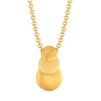 Sequin Meetings Gold Pendants