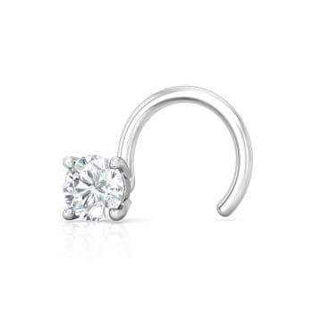 Solitaire Extraordinaire Diamond Nose Pins