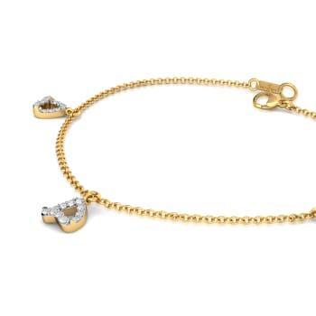Curl Furl Diamond Bracelets