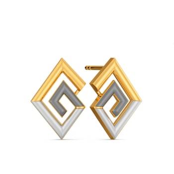 Power Meet Gold Earrings