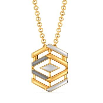 Cross Greys Gold Pendants