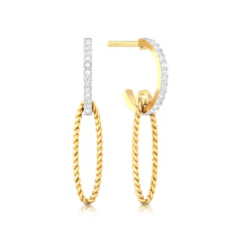 Ellipsia Diamond Earrings