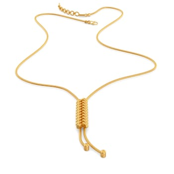 The Twill Drill Gold Necklaces