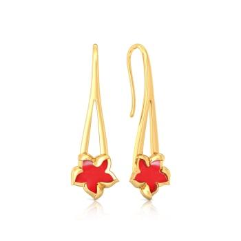 Redazzler Gold Earrings