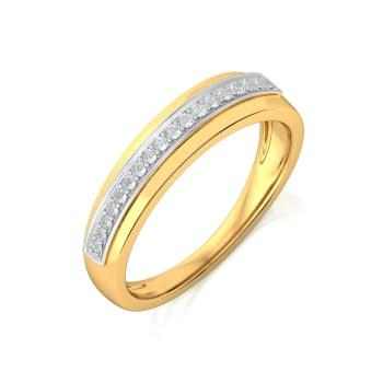Glow Row Diamond Rings