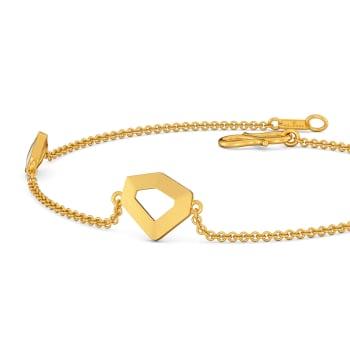 White Water Waltz Gold Bracelets