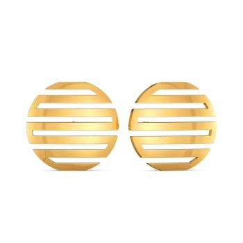 Dress Obsess Gold Earrings