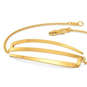 Larger Than Life Gold Bracelets