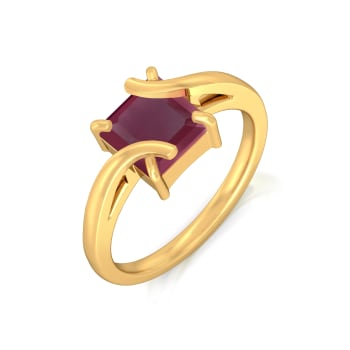 Mulled Finery Gemstone Rings