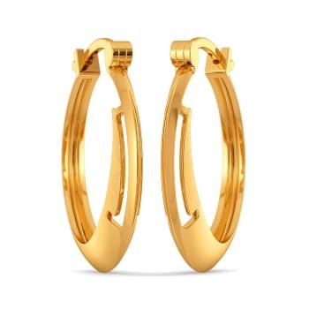 Prim Trims Gold Earrings