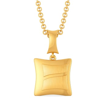 Carre Crush Gold Pendants