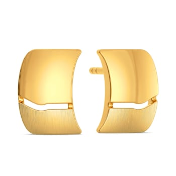 A French Fit Gold Earrings