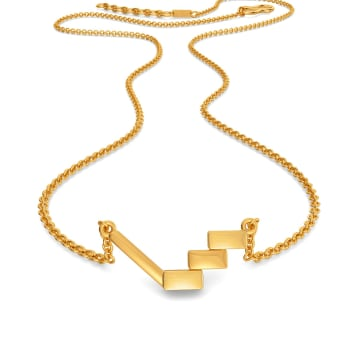 Parisian Play Gold Necklaces