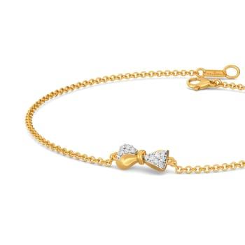 Swirly Bows Diamond Bracelets