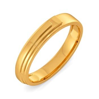 Vest Dressed Gold Rings