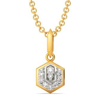 A Cocktail Tale Diamond Pendants