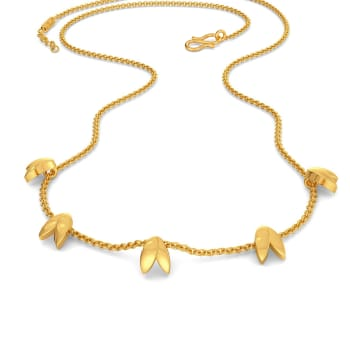 Two Folds Gold Necklaces