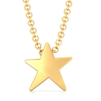 Song of Stars Gold Pendants