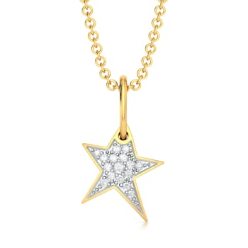 Stars Inc. Diamond Pendants
