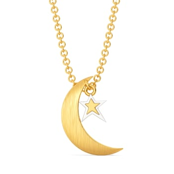 Sweet Star O' Mine Gold Pendants