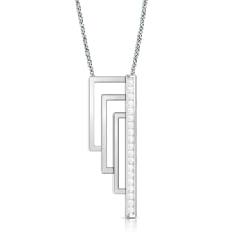 Tri-Connect  Diamond Pendants