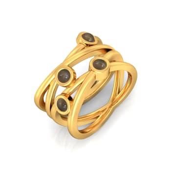 Earth Song Gemstone Rings