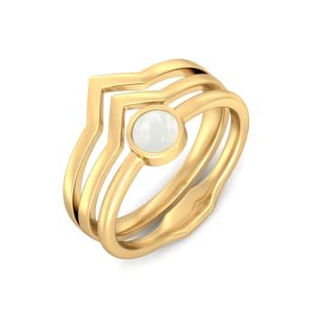 Moonstruck Gemstone Rings