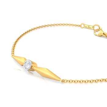Simple Winkle Diamond Bracelets