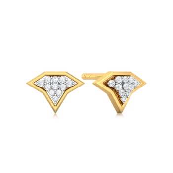 Starry Glimmer  Diamond Earrings
