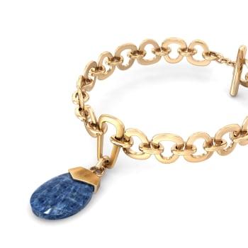 Button Pocket Gemstone Bracelets