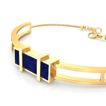 Cobalt Shots Gemstone Bracelets