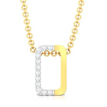 From Here to Eternity Diamond Pendants