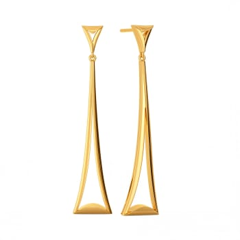 Pivot Play Gold Earrings