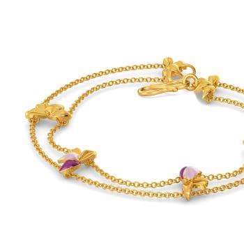Lei Floret Gold Bracelets